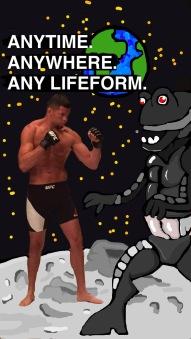 Nate Diaz snapchat UFC Art